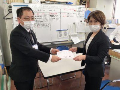 岡山県保健福祉課様へ行ってきました
